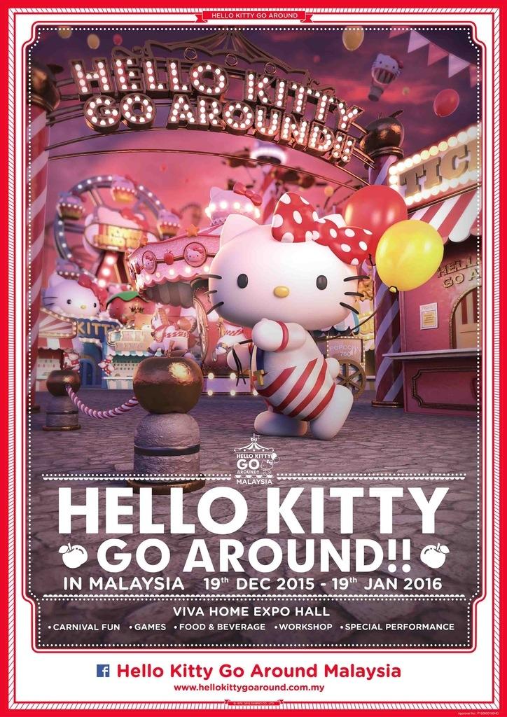 Hello Kitty Go Around Malaysia 2015