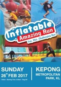 inflatable amazing run 2017